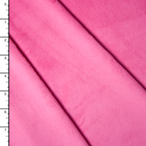 Hot Pink Minky Solid