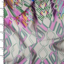 Designer Silk Crepe De Chine Print #15947