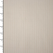 Robert Kaufman 'Raw and Refined' Ivory on Ivory Cotton Dobby Stripe