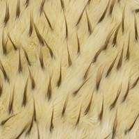 Tan/Brown Two-tone Spike Faux Fur