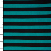 Teal and Black Stripe ITY