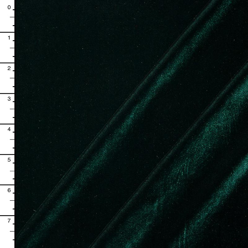 Hunter Green 4-way Stretch Velvet