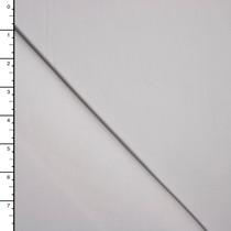 White Premium Midweight Cotton Lycra Jersey Knit