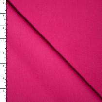 Hot Pink Premium Midweight Cotton Lycra Jersey Knit
