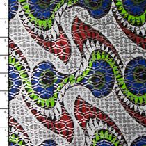 Metallic African Cotton Print #16246