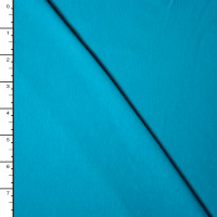 Turquoise Stretch Midweight 4-way Stretch Jersey Knit