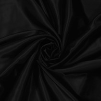 Black Charmeuse Satin