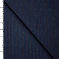 Blue on Blue Stripe 5.4oz Lightweight Denim