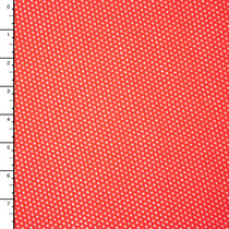 Bright Red Stretch Cotton Netting