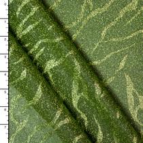 Metallic Lime Tiger Sparkle Knit