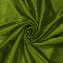 Dark Avocado Green Charmeuse Satin