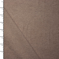 Midweight Tan Brushed Stretch Knit