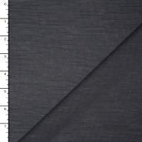 Dark Grey Slubbed Lightweight Sweater Knit