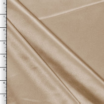 Champagne Midweight Bridal Satin