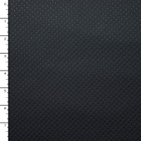 Black Perforated-Look Windblock Fleece