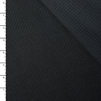 Black Perforated Windblock Fleece