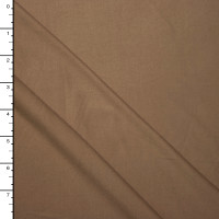 Tan Double Brushed Poly Spandex Knit