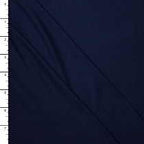 Navy Blue Double Brushed Poly Spandex Knit