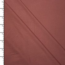 Mauve Double Brushed Poly Spandex Knit