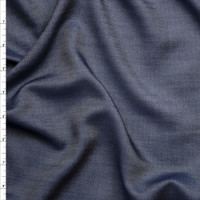 Lightweight Indigo Tencel Denim Fabric By The Yard