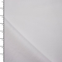 Heavyweight White Sweatshirt Fleece