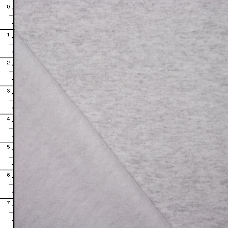 Light Grey Heather Sweatshirt Fleece
