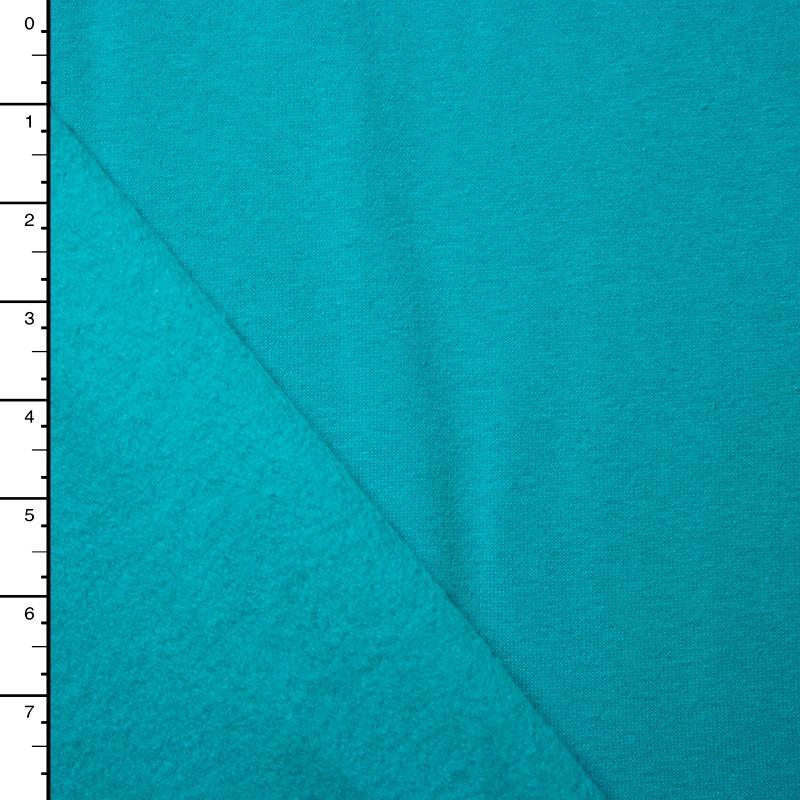 Turquoise Sweatshirt Fleece