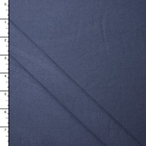 Slate Blue Organic Cotton/Bamboo Stretch Jersey Knit