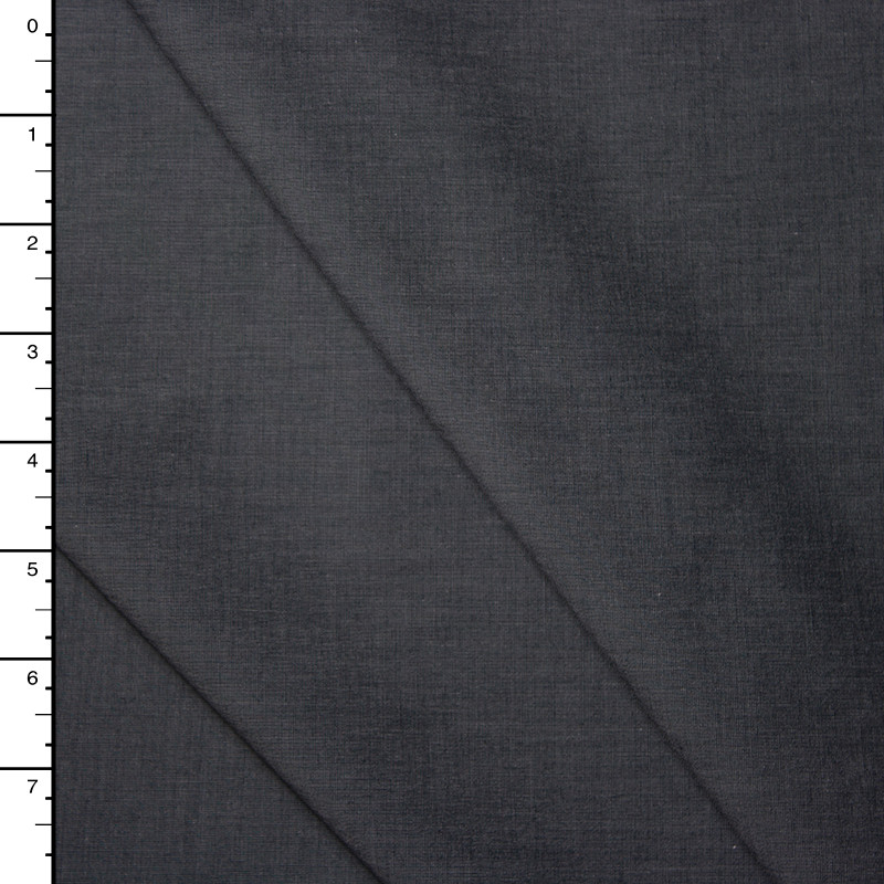 Charcoal Grey Fine Cotton Shirting from 'Theory'