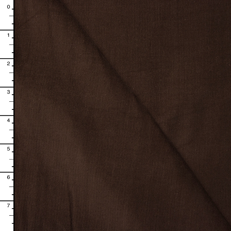 Brown Baby Wale Corduroy