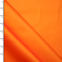 Bright Orange Midweight Stretch Cotton Sateen