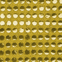 Gold Big Dot Sequin Fabric