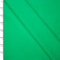 Bright Green Midweight 4-Way Stretch Cotton/Lycra