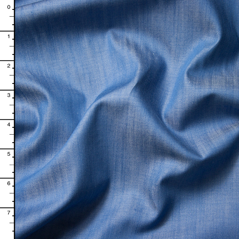 Light Blue Designer Lightweight Tencel Denim