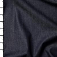 Dark Blue Tencel Denim Fabric By The Yard
