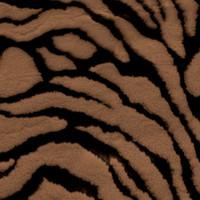 Brown Tiger Faux Fur
