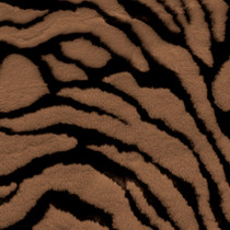 Brown Tiger Faux Fur