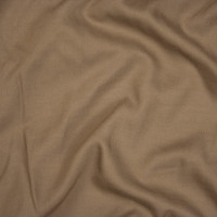 Cappucino Rayon Challis Fabric By The Yard - Wide shot