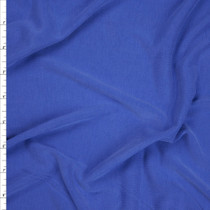 Bright Blue Brushed Modal Knit Fabric By The Yard