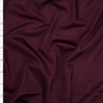 Wine Shiny 4-way Stretch Nylon/Lycra Fabric By The Yard
