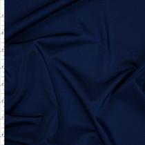 Navy Blue Shiny 4-way Stretch Nylon/Lycra Fabric By The Yard