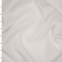 White Brushed Poly Modal Peachskin Fabric By The Yard