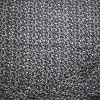 Mottled Grey Heavyweight Wool Sweater Knit Fabric By The Yard - Wide shot