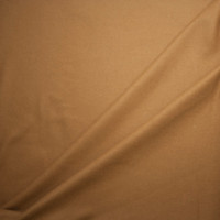 Camel Wool Melton Coating Fabric By The Yard - Wide shot