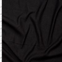 Black Denim Look Knit Fabric By The Yard