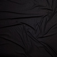 Black Denim Look Knit Fabric By The Yard - Wide shot
