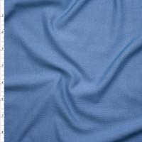 Light Blue Denim Look Knit Fabric By The Yard