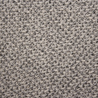 Black and Offwhite Mottled Open Weave Sweater Knit Fabric By The Yard - Wide shot