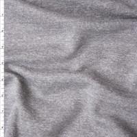 Medium Grey Midweight Sweatshirt Fleece Fabric By The Yard
