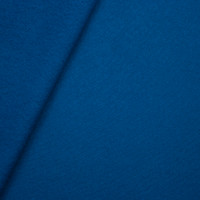 Rich Teal Heavyweight Sweatshirt Fleece Fabric By The Yard - Wide shot